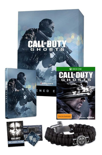 call of duty ghosts hardened edition - xbox one