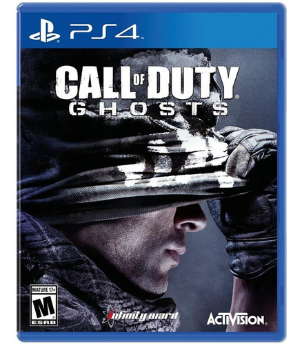 call of duty ghosts / juego físico / ps4