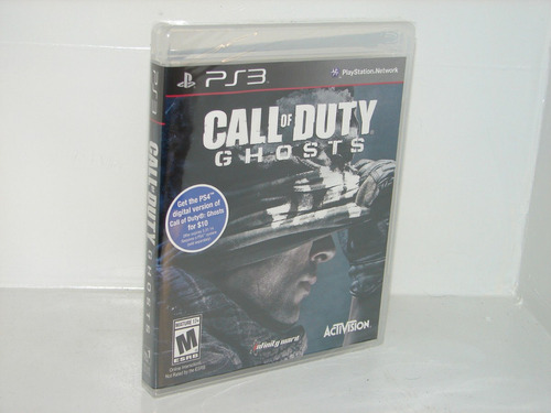 call of duty ghosts juego playstation 3  ps3