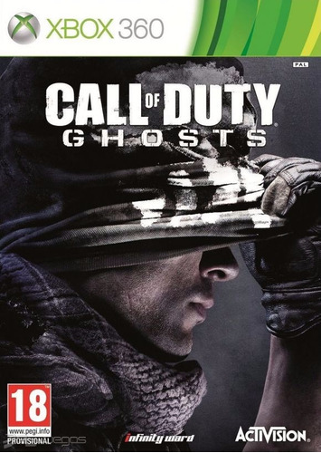 call of duty ghosts para xbox 360 de activision e infiny war