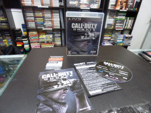call of duty ghosts playstation 3 japon ps3 zonagamz