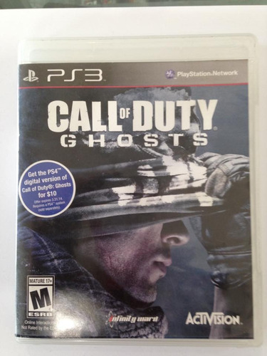 call of duty ghosts playstation 3 ps3