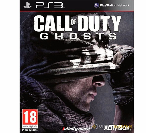 call of duty ghosts ps3 playstation 3 disco fisico sellado