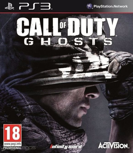 call of duty ghosts ps3 playstation 3 original