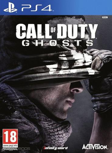 call of duty ghosts ps4   entrega inmediata