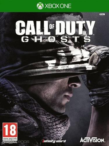 call of duty ghosts xbox one fisico nuevo sellado