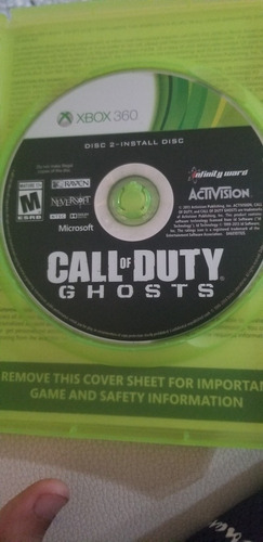 call of duty ghots xbox 360