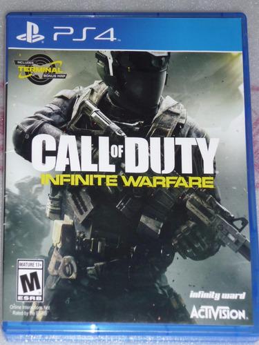 call of duty infinite warefare ps4 original usado como nuevo
