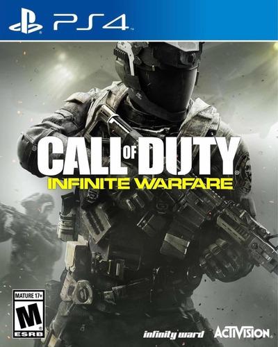 call of duty infinite warfare fisico nuevo sellado ps4