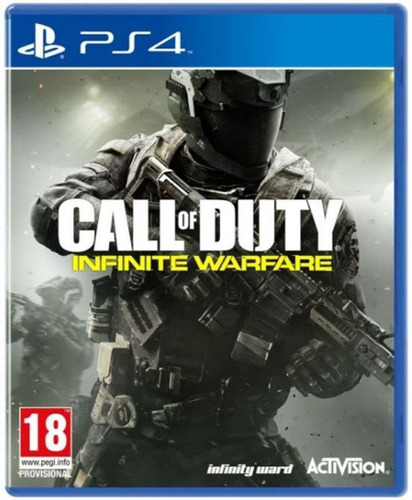 call of duty infinite warfare juego ps4 playstation 4