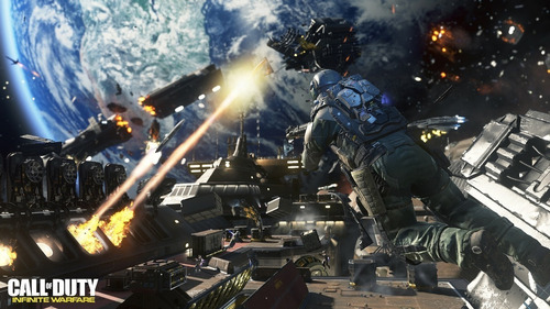 call of duty infinite warfare juego ps4 playstation 4
