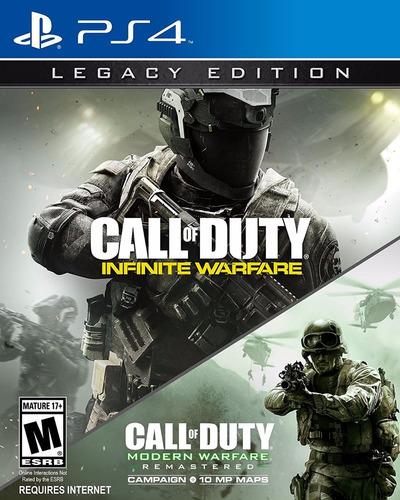 call of duty infinite warfare legacy edition fisico nuevo ps4 dakmor