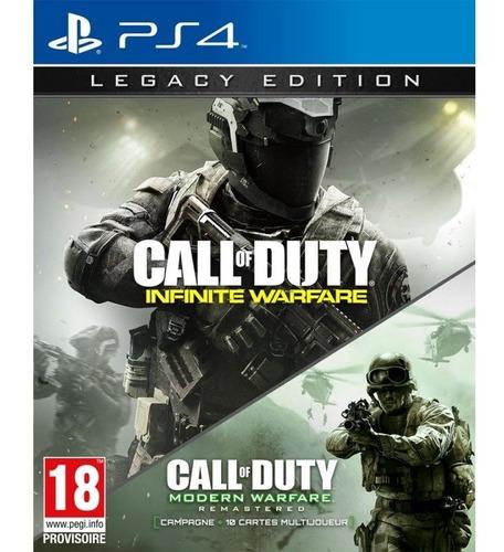call of duty infinite warfare legacy edition ps4 fisico