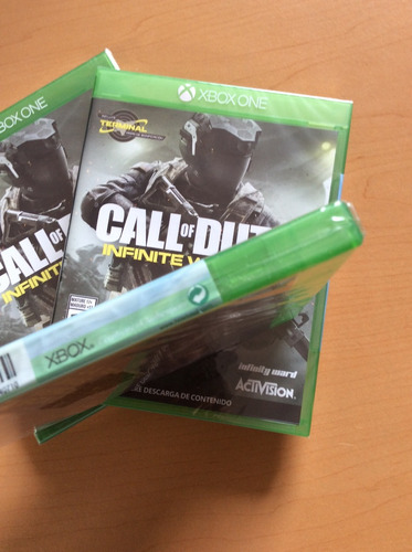 call of duty infinite warfare para xbox one. nuevo y sellado
