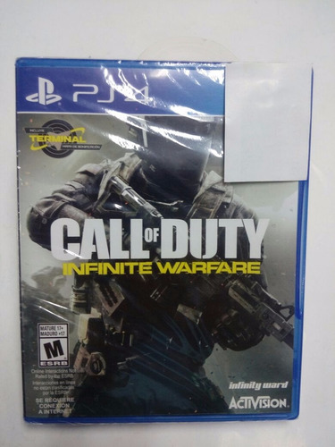 call of duty: infinite warfare.-ps4