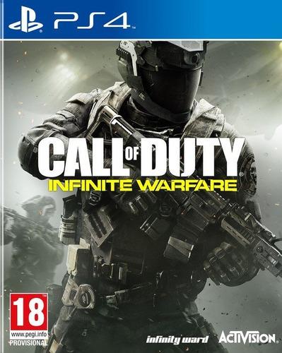 call of duty: infinite warfare ps4 fisico