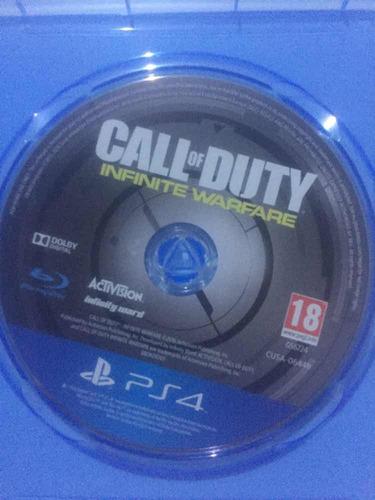 call of duty infinite warfare ps4 físico blu-ray envíos