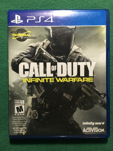 call of duty infinite warfare ps4 (físico original)