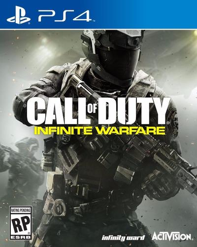 call of duty infinite warfare ps4 - físico original usado