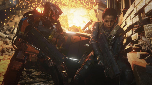 call of duty infinite warfare ps4 fisico sellado en español