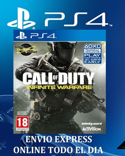 call of duty infinite warfare ps4 primaria digital