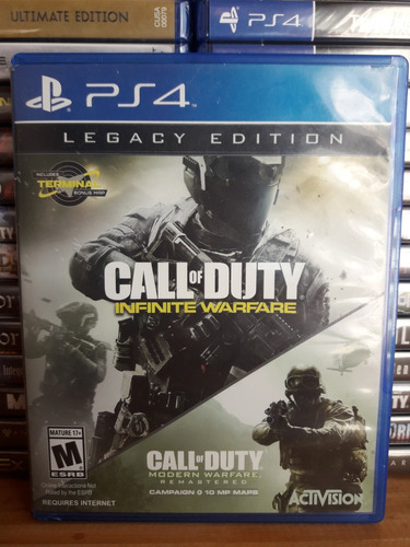 call of duty infinite warfare ps4 usado