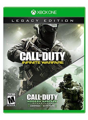 call of duty infinite warfare - xbox one - legacy ce - sp eq