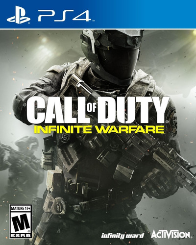 call of duty infinity warfare - ps4 fisico nuevo & sellado