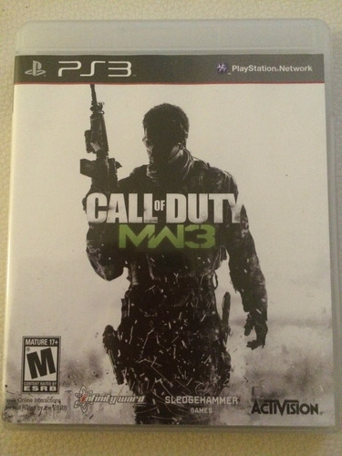 call of duty modern warefare 3 ps3