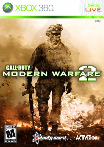 call of duty modern warfare 1, 2, 3 xbox 360 retrocompatible