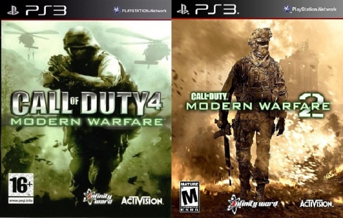 Call Of Duty Modern Warfare 1 Y 2 Ps3 Español Digital Tenelo Hoy!!