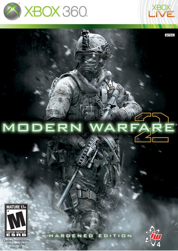 call of duty modern warfare 2 mw2 hardened edition xbox 360
