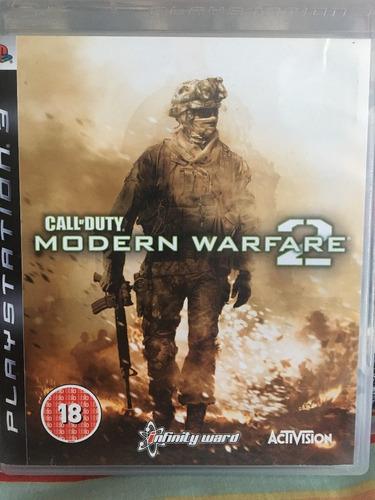 call of duty modern warfare 2 ps3 entregas d.f.