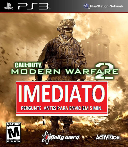 call of duty modern warfare 2 special ps3 psn midia digital