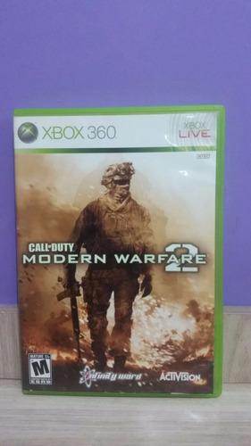 call of duty modern warfare 2 / xbox 360 original