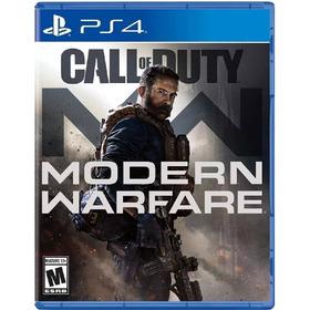 Call Of Duty Modern Warfare 2019 Ps4 Mídia Física Lacrado