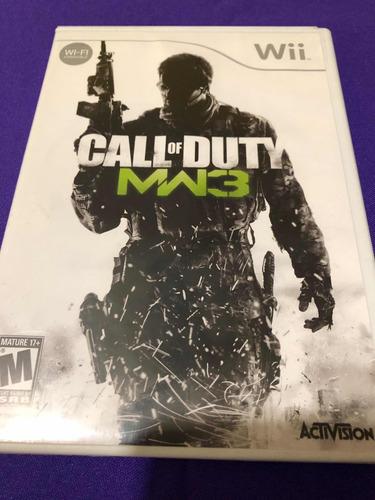 call of duty modern warfare 3 mwf 3 wii edition