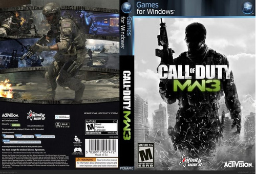 call of duty modern warfare 3 pc - steam - entrega inmediata