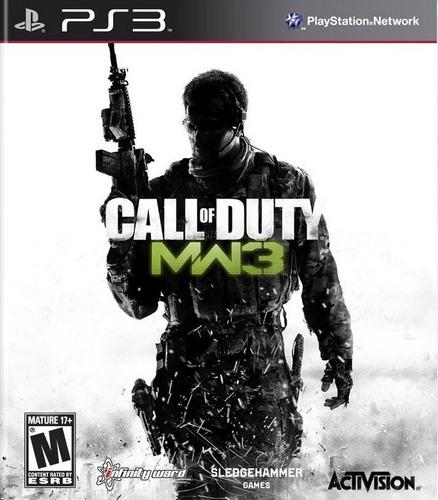call of duty modern warfare 3 - playstation 3