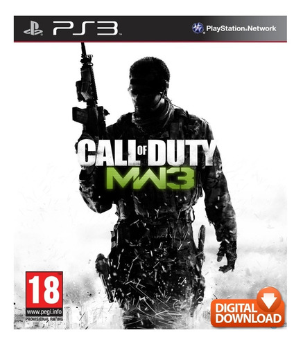 call of duty modern warfare 3 ps3 español digital original