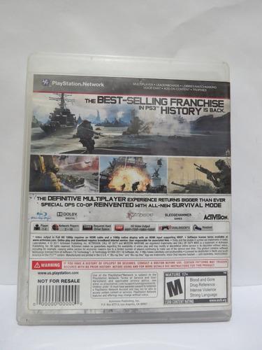 call of duty: modern warfare 3 / ps3  / original