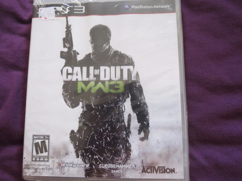 call of duty modern warfare 3 sony playstation ps3 cod