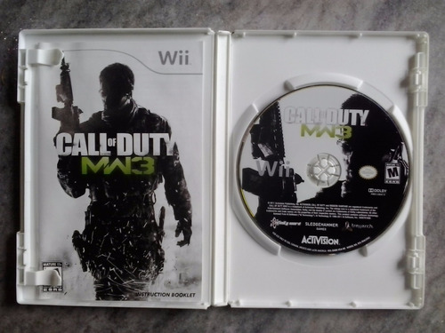 call of duty - modern warfare 3 ( wii )