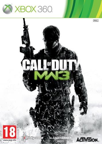 call of duty: modern warfare 3 with dlc - xbox 360 nuevo