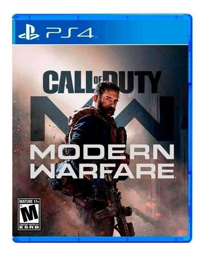 call of duty modern warfare ps4 // fisico // mathogames