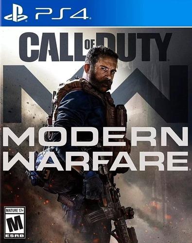 call of duty modern warfare ps4 fisico ya en stock!! jazz pc