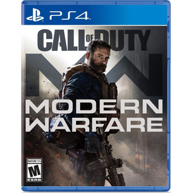 Call Of Duty Modern Warfare Ps4 Mídia Física Lacrado