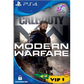 Call Of Duty Modern Warfare Ps4 Vip 1 | Cod Mw Ps4 Psn Ev Já