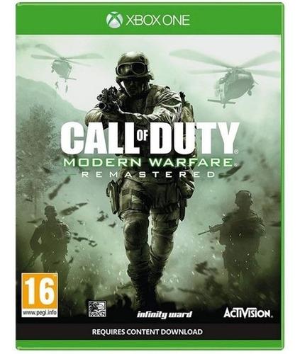 call of duty modern warfare remastered /*xbox one*/ offline