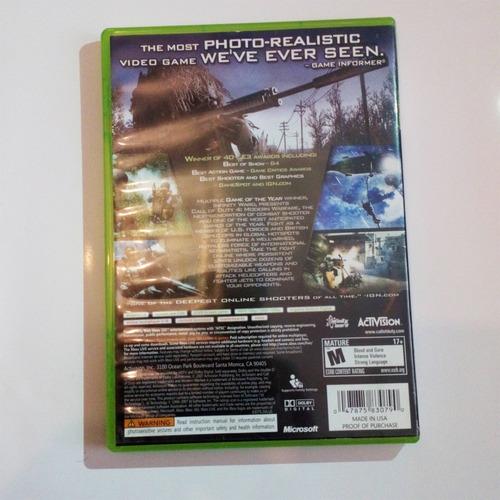 call of duty modern warfare usado xbox 360 xbox one